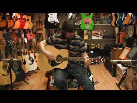 Yamaha F310 Acoustic Guitar Review by Rikki's Music Shop, Edinburgh