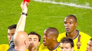 Top 10 Undeserved Red Cards
