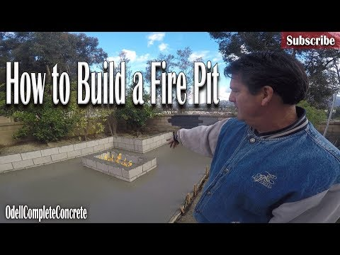 How to Build a Fire Pit With Cinder Blocks DIY