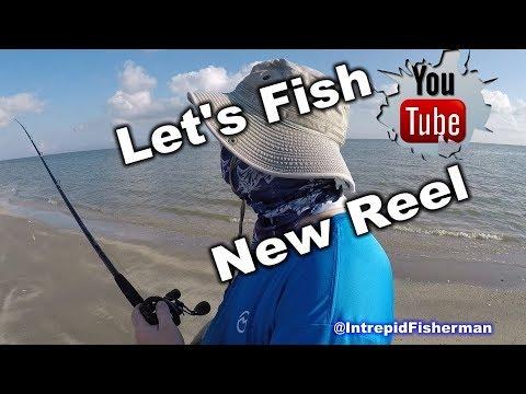 Texas City Dike Fishing new Reel 13 fishing Concept A3 and Ugly Stik GX2