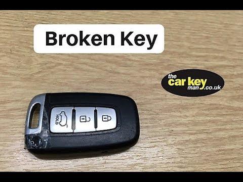 Hyundai ix35 Key Repair Loose Blade