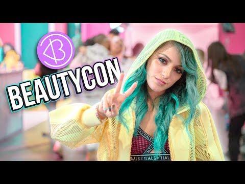 BEAUTYCON NYC 💄+ HUGE Free Makeup Haul!!