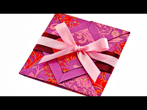 Valentine's Day Handmade Origami Card *Message of love can't be delivered sweeter than this!*