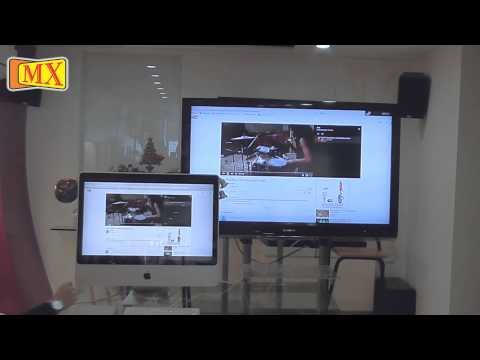 How to connect iMac to TV using Mini Display to HDMI Cable