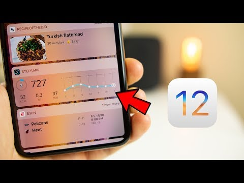 7 AWESOME iPhone Widgets for iOS 12!