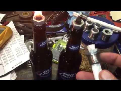 Beer Bottle Tiki Torch, Citronella Torch