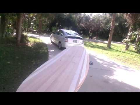 How to build a wood surfboard Nose and Tail Block