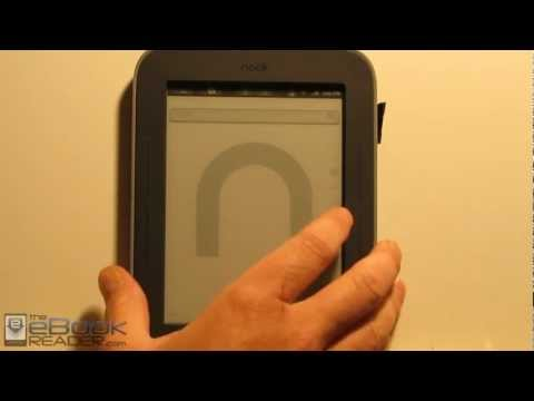 Rooting a Nook Glow with GlowNooter and Setting up Google Apps