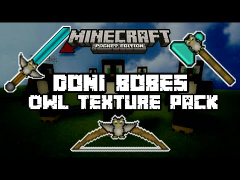 Minecraft PE | DoniBobes Owl Texture pack! | 1.0x