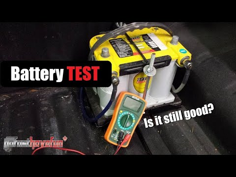 How to Check/ Test your Car Battery with a Multimeter
