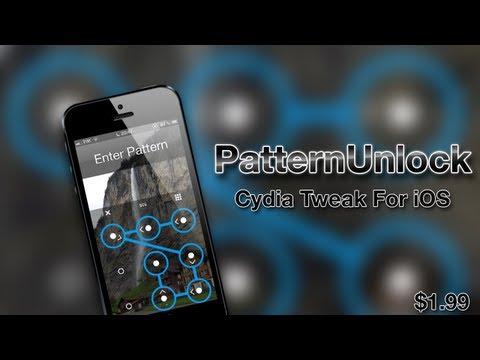 PatternUnlock Cydia Tweak: Bring An Android-Like Lockscreen Experience To iOS