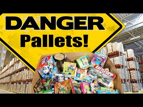 Wholesale Pallets Customer Returns - think twice before buying!