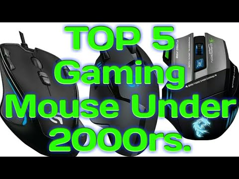 Top 5 Best Gaming Mouse Under 2000 Rupees 2018