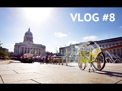 BIKE RIDE AROUND CITY NOTTINGHAM || irwancorner