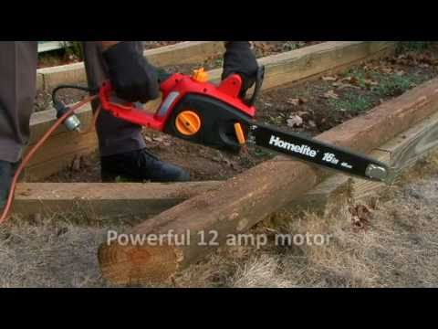 Homelite 16in. Electric Chainsaw (UT43120)