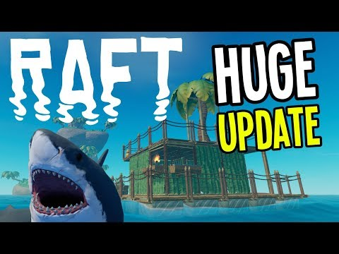 HUGE Raft Update! NEW Islands, Diving, Multiplayer, and MORE! - Raft Gameplay