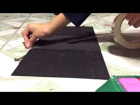 How to make your doll a gymnastics mat!
