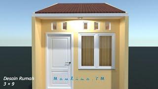 Sketchup Tutorial Desain Rumah 3 X 8 M Di Lahan Sempit