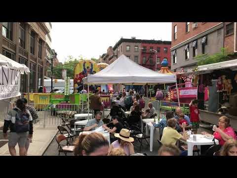 Street Party, Schermerhorn St, Brooklyn, New York (6-8-18)