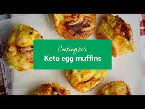 Cooking keto: Egg muffins