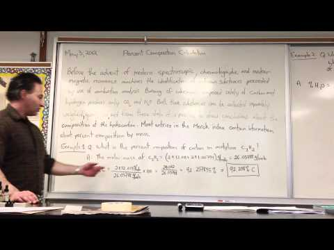 Percent Composition Calculation