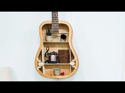 Inexpensive DIY Guitar Shelf - Hallmark Channel