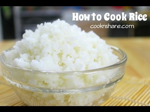How to Cook Rice - How to series episode 3