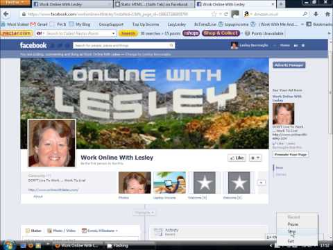 LearnWithLesley | How To Create A Facebook Tab Landing Page