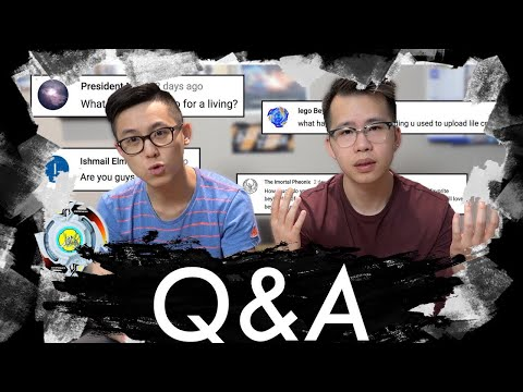 Are You Guys Brothers? | Q&A: We answer your dying Questions...
