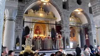 Surp Giragos Ermeni Kilisesi Ibadete Açıldı ( Սուրբ Կիրակոս - Dikranagerd )