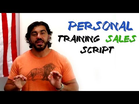Personal Training Sales Script
