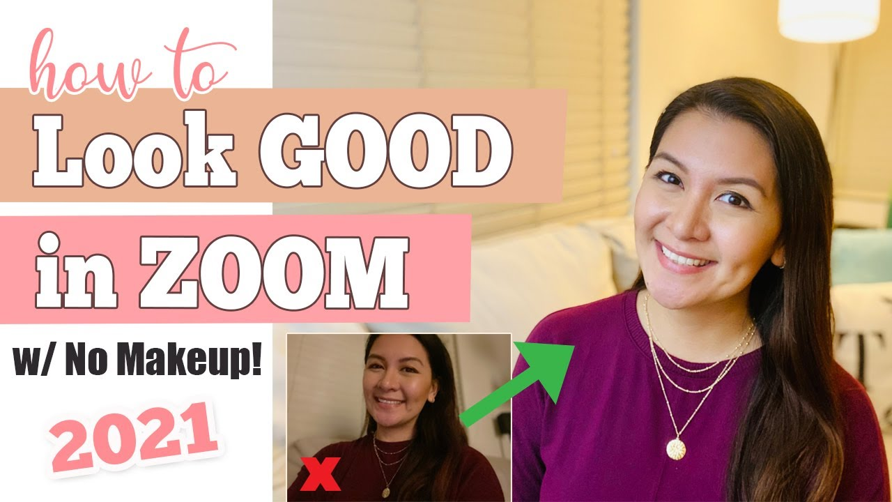How To Look GOOD And Feel CONFIDENT In ZOOM | Look Good on Zoom WITHOUT MAKEUP | Ana Luisa Jewelry