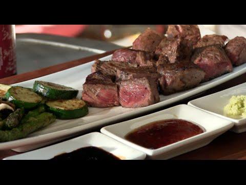 Teppanyaki Steak Recipe (Morgan Ranch American Wagyu)