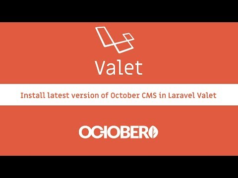Update October CMS to Laravel 5.5 with Valet