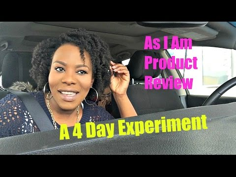 As I Am Product Review + 4 Day Experiment & Overall Thoughts
