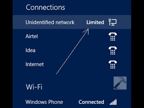How to fix Limited Wi Fi connection on Windows 8 Step by Step