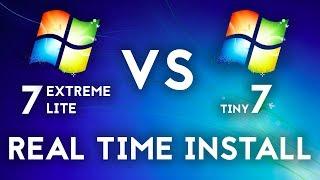 Installing Tiny 7 (An unofficial build of Windows 7) - PakVim net HD