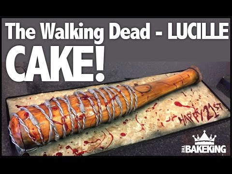 How to make The Walking Dead- Lucille CAKE!
