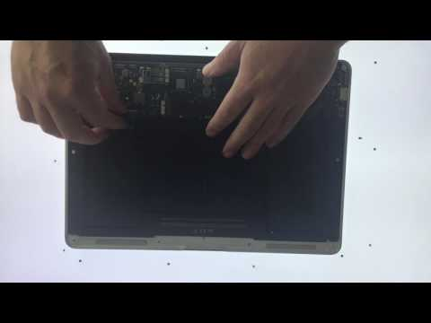 How to replace the battery on an Apple Macbook Air - macOS troubleshooting
