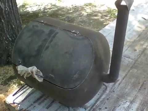 5 Gallon Propane Tank Grill DIY
