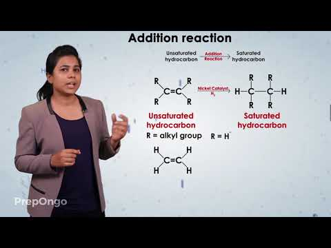 Carbon and its Compounds | Addition reaction