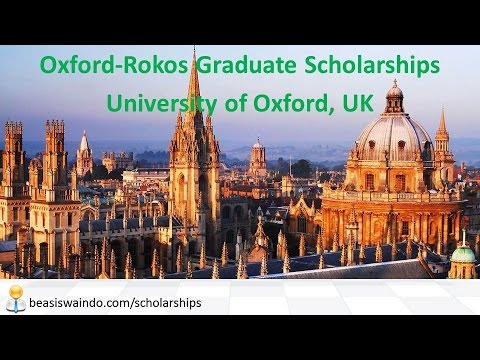 UK - University of Oxford Rokos Graduate Scholarship #20150123