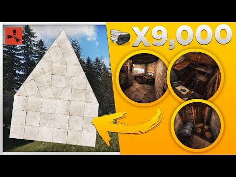 BEASTLY CHEAP STARTER BASE - Rust Solo/Duo STARTER Base Build Design 3.2 - Rust Base Building 3.2