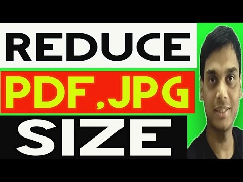 How to reduce file size of pdf, jpg , png without software   Helping abhi