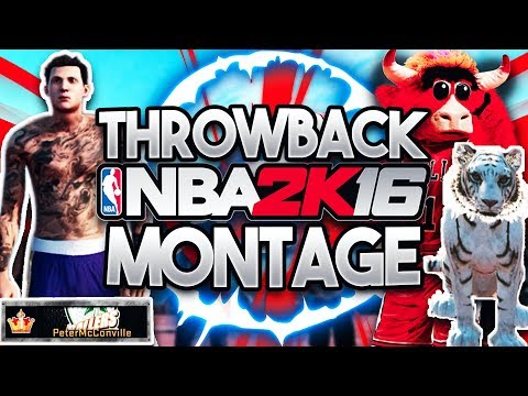 NBA 2K16 Montage! Tiger Wars, TNF, & My Greatest Moments!!