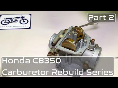 Honda CB350 Carburetor Rebuild Part 2: Pilot Jet, Float Seat & Emulsifier Tubes Installation