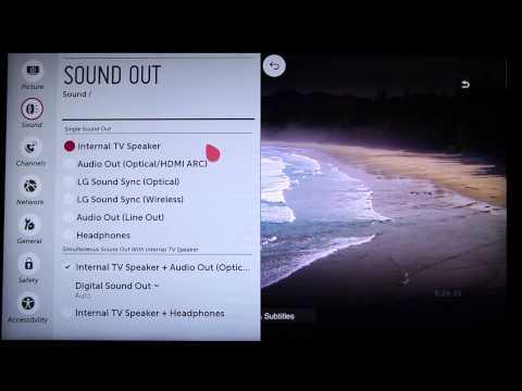 Adjusting your LG Smart TV's Sound Settings | LG USA