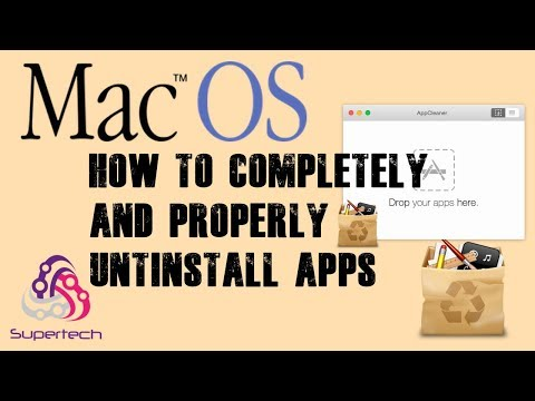 MacOS - UNINSTALL APPS Completely and Properly - APPCLEANER