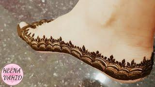 Simple Leaves Design For Beginners 2018 Heena Vahid Dtby0 Videostube