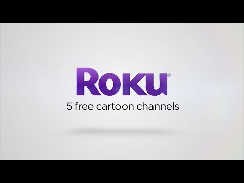 5 free cartoon channels on the Roku platform